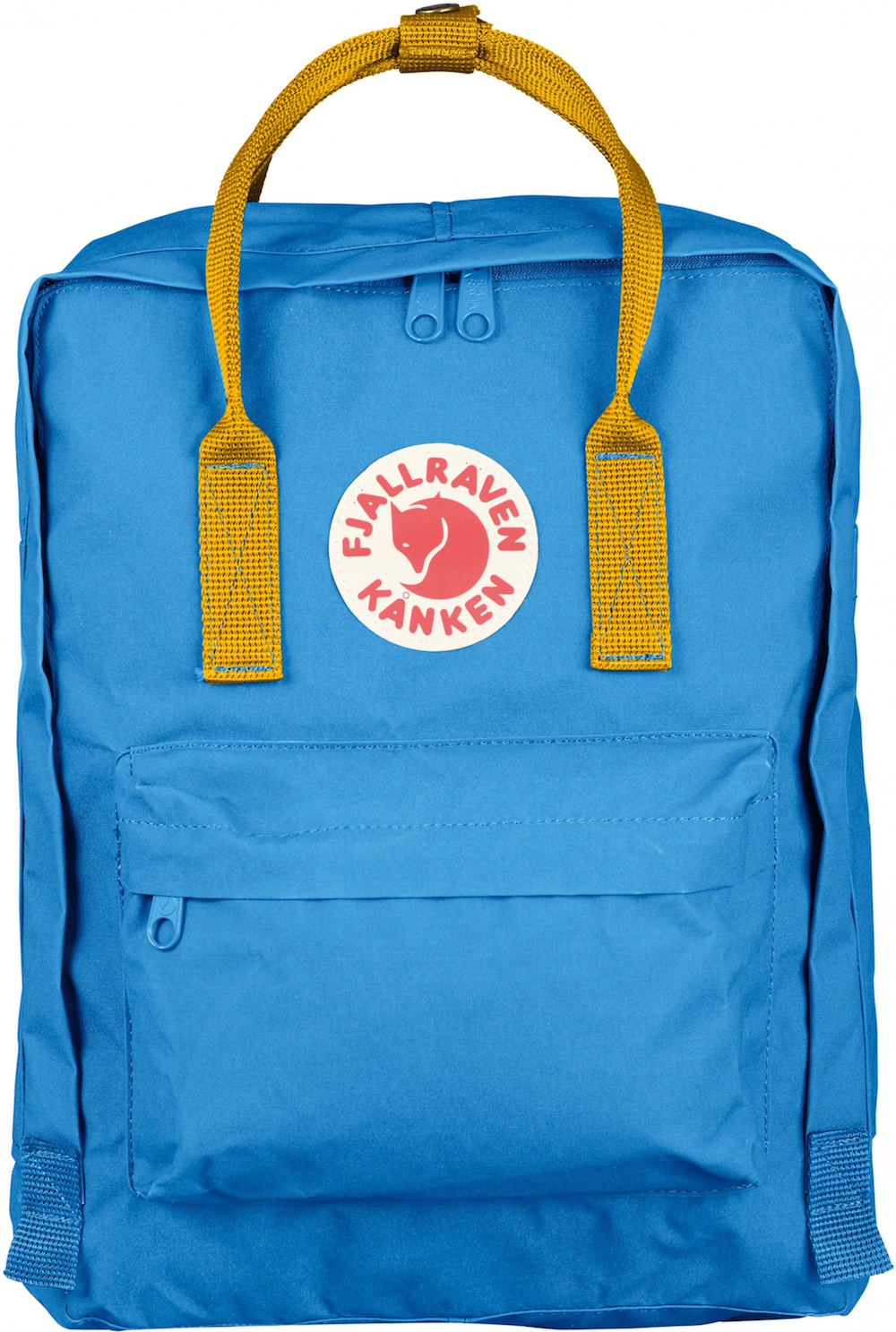 Fjällräven Kånken Un Blue / Warm Yellow