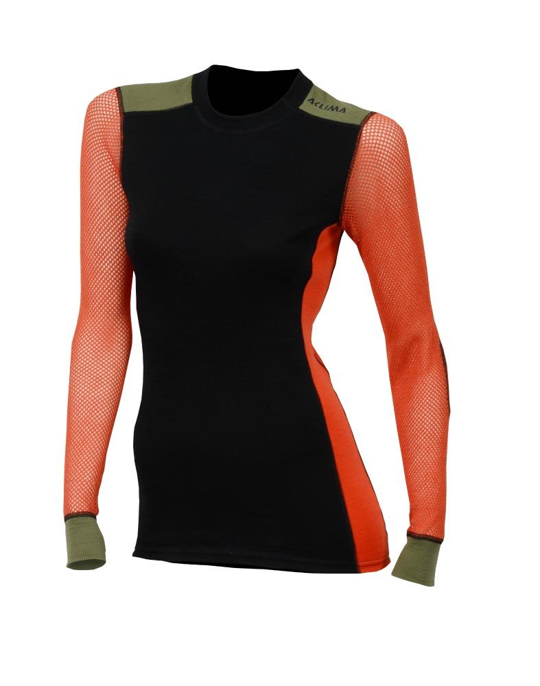 63ea4dde62f Aclima Wool Net Hiking Crew Neck W - дамска термо-блуза с дълъг ръкав