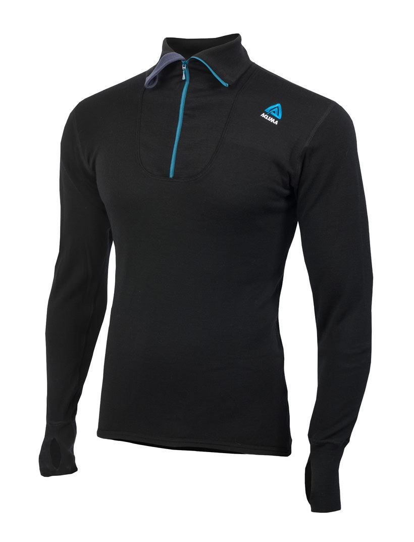 Aclima Double Wool Polo Zip