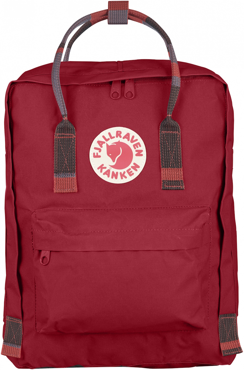 Fjällräven Kånken Deep Red-Random Blocked