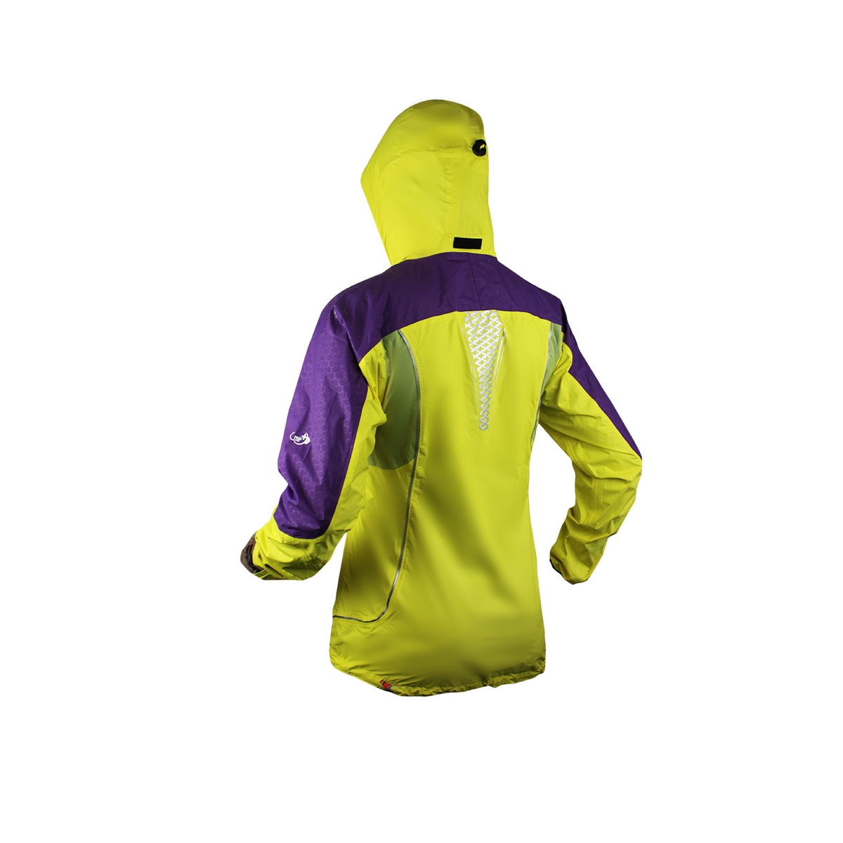 Raidlight Extreme Jacket MP+ Lady Yellow/Purple