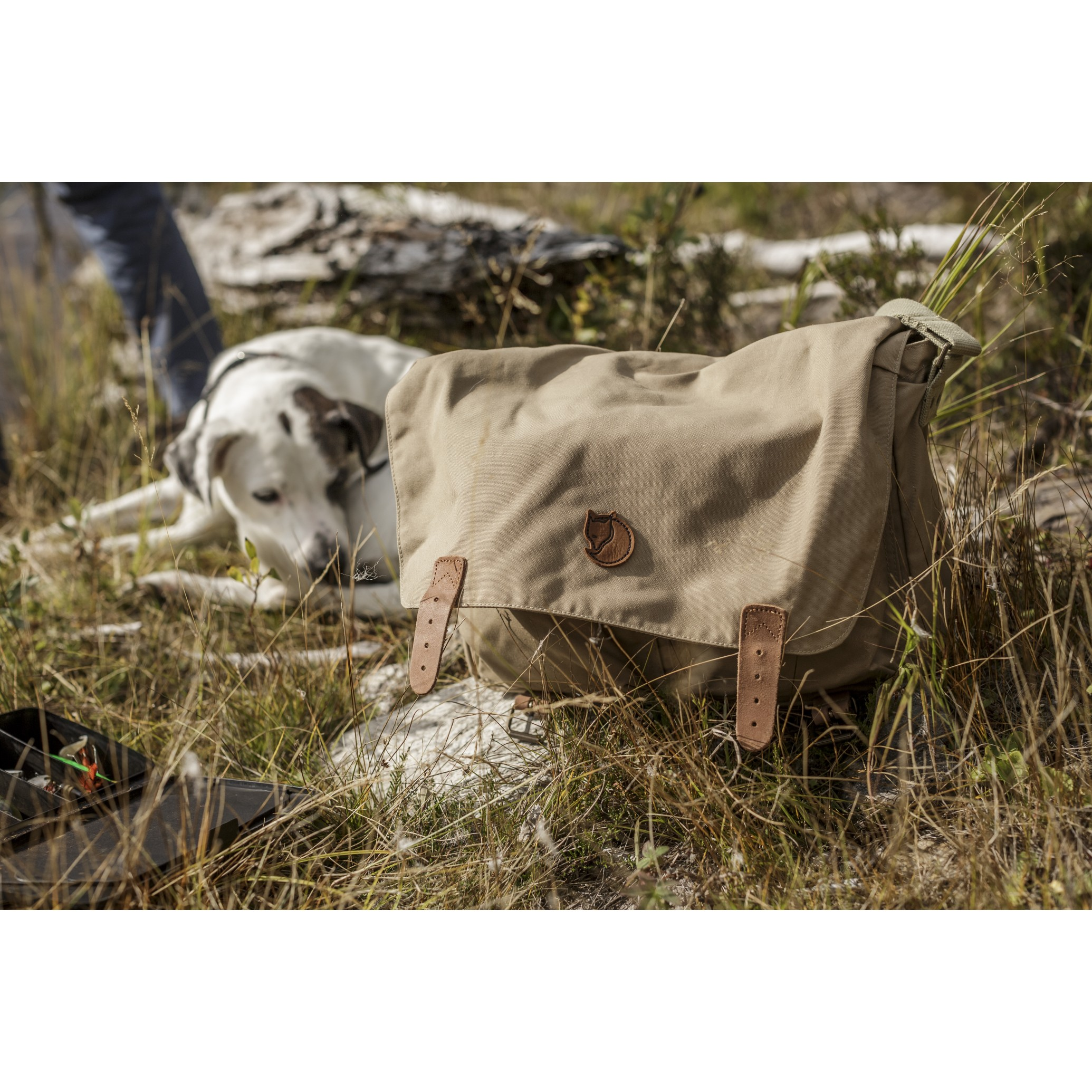 Fjällräven Övik Shoulder Bag Hickory Brown