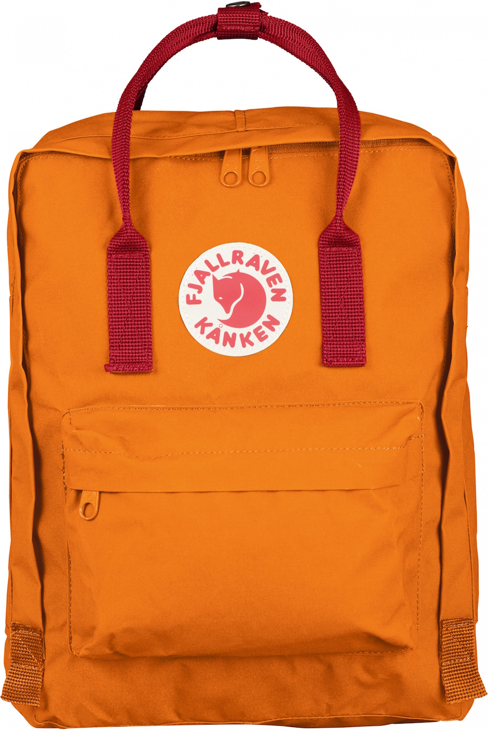 Fjällräven Kånken Burnt Orange / Deep Red