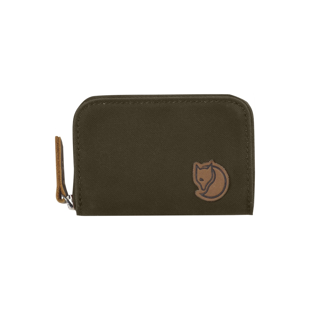 Fjällräven Zip Card Holder Dark Olive