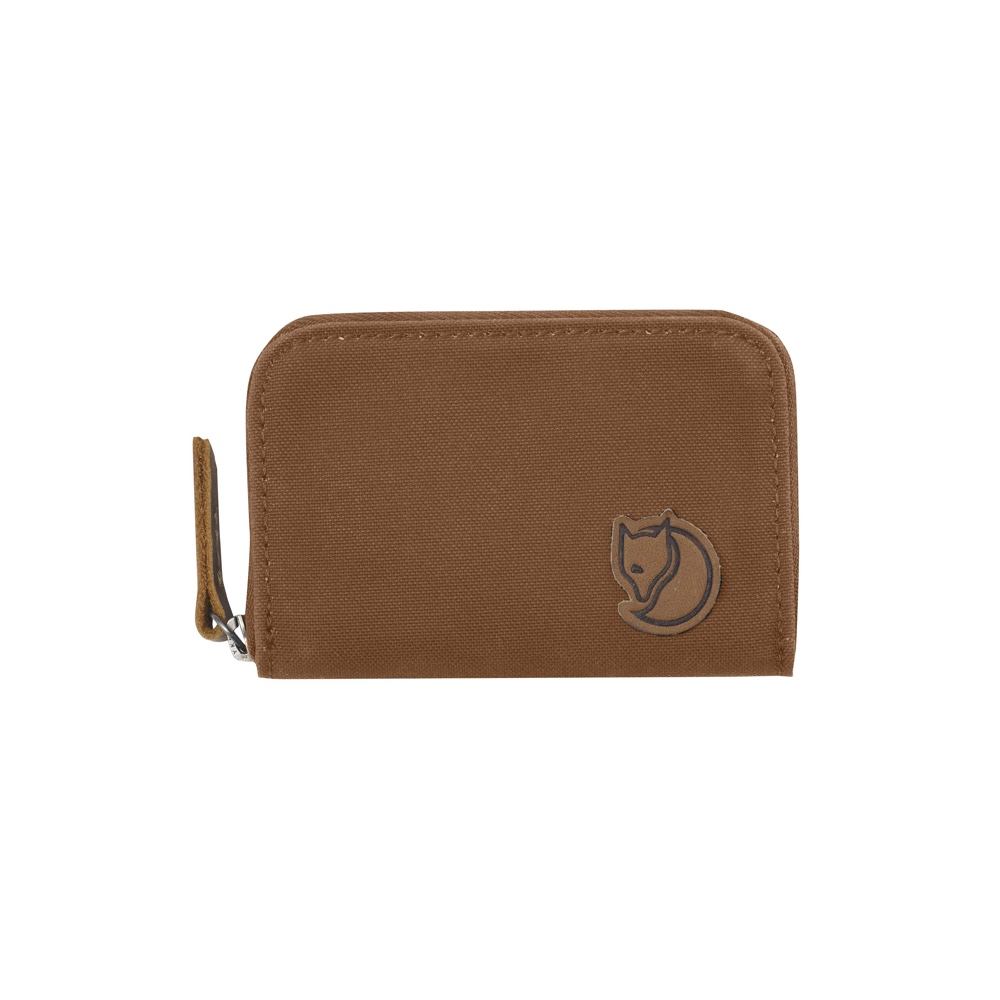 Fjällräven Zip Card Holder Chestnut