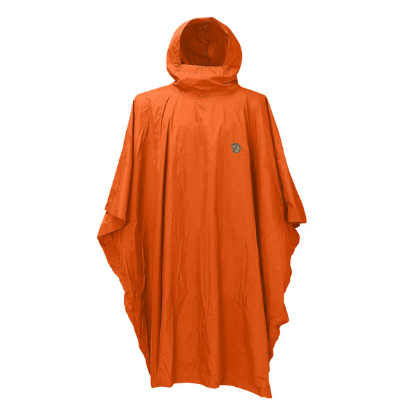 Fjällräven Poncho Safety Orange