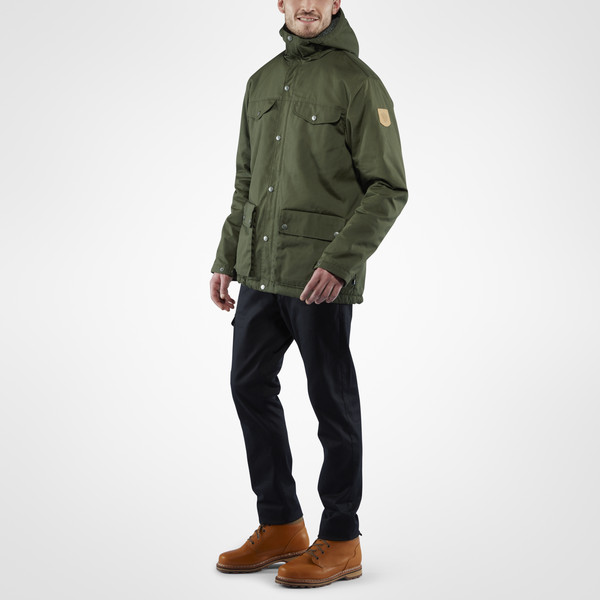 Fjällräven Greenland Winter Jacket Black