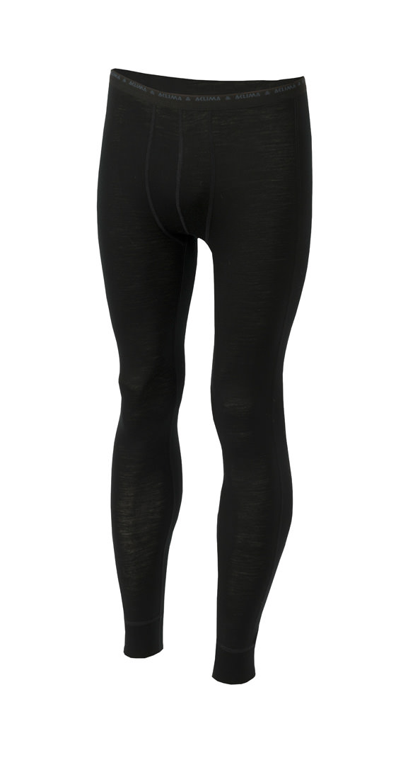 Aclima Light Wool Longs Jet Black