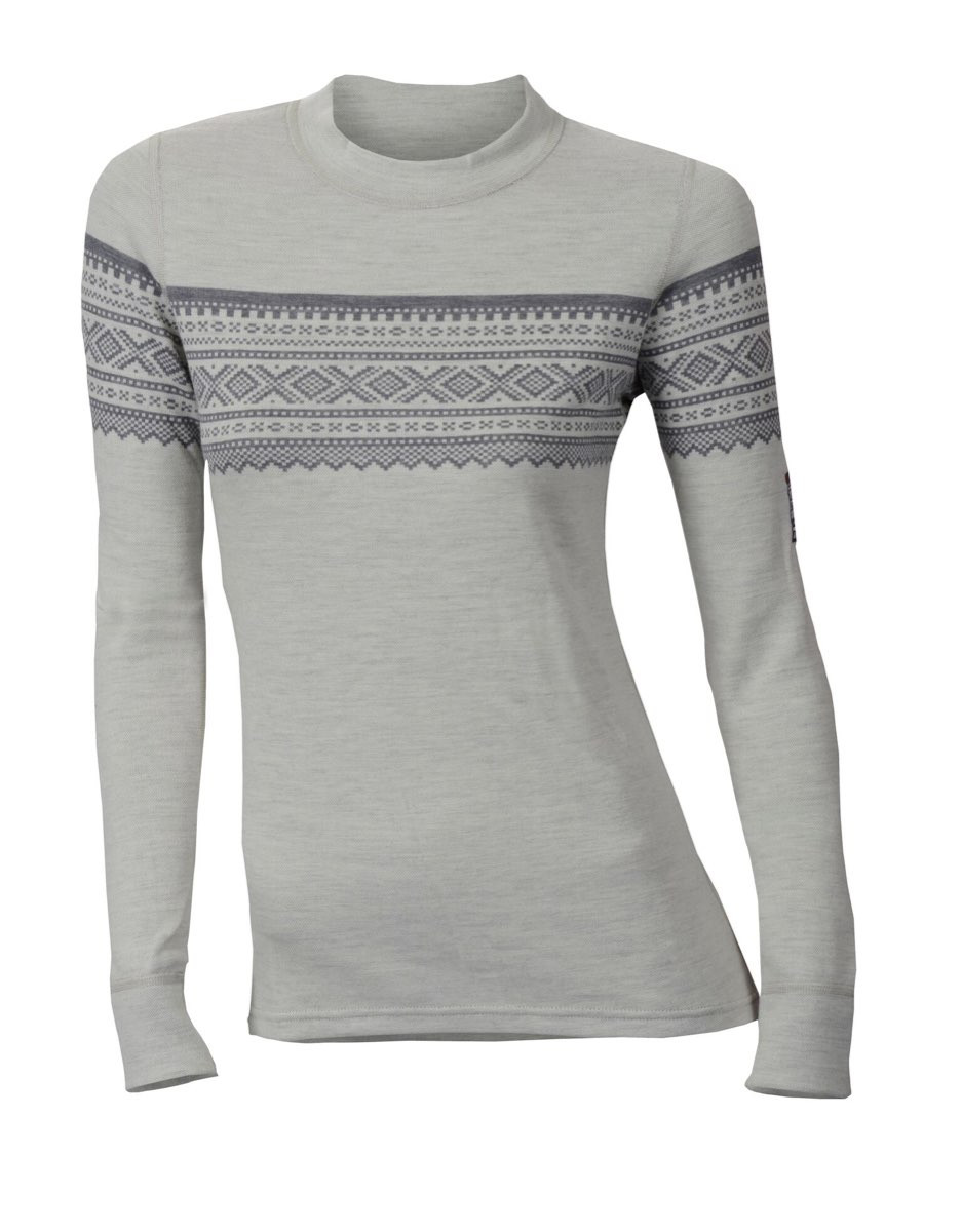 Aclima Design Wool Marius Crew Neck W Grafjell