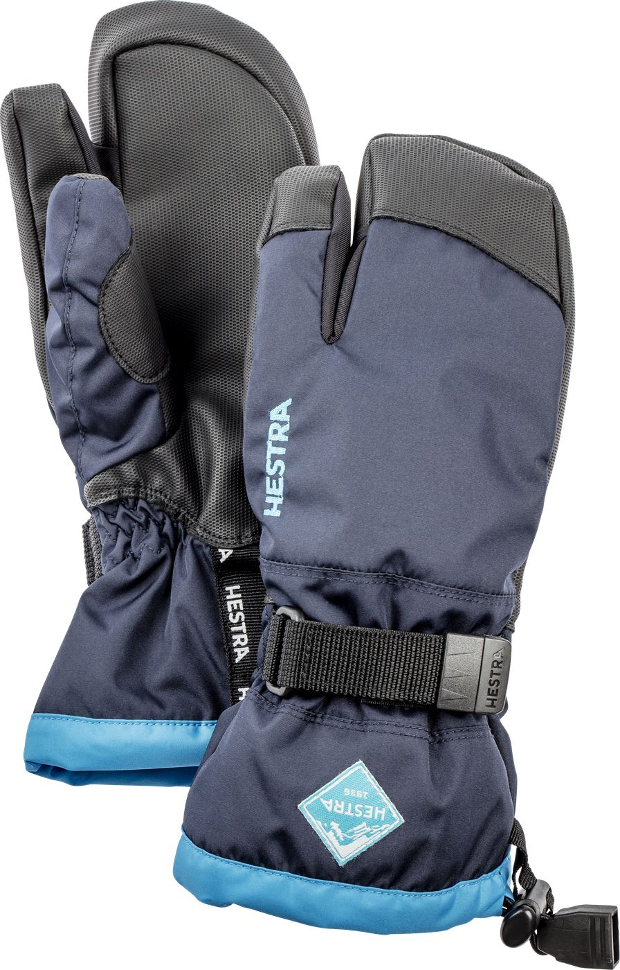 Hestra Gauntlet Czone JR – 3 finger Dark Navy