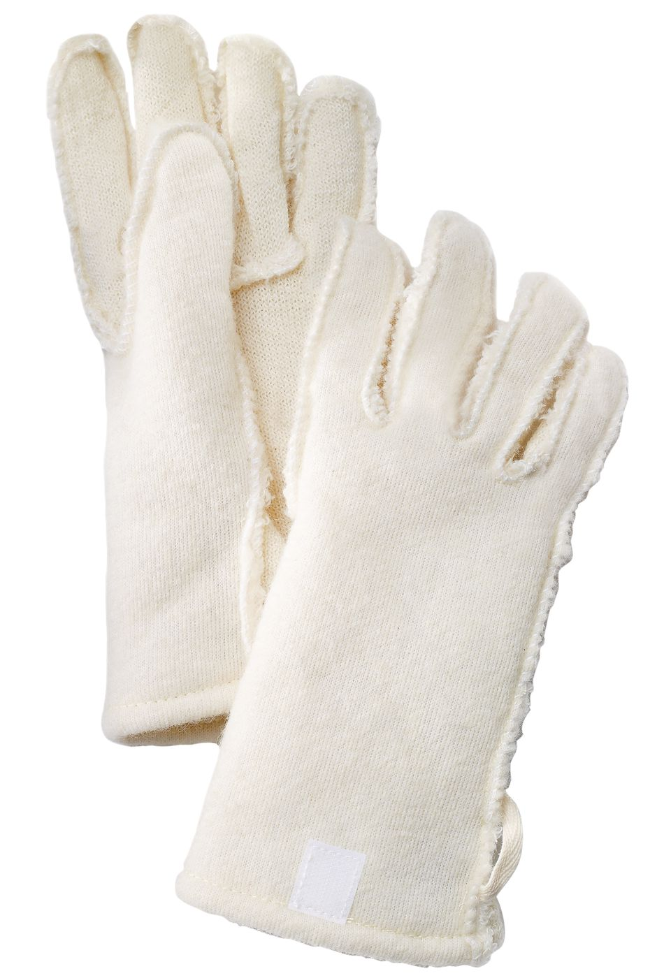 Hestra Wool Pile/Terry Liner Long – 5 finger Offwhite