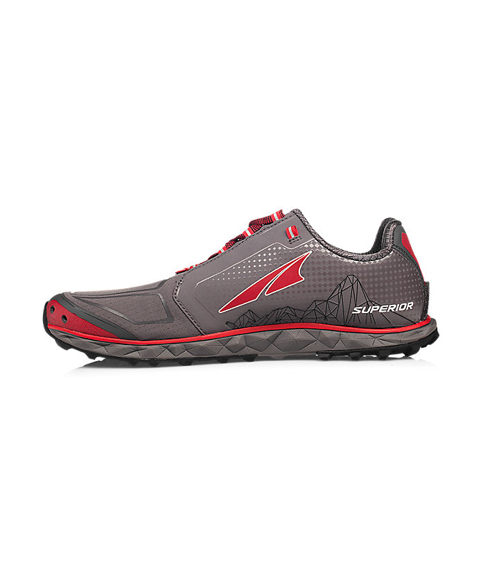 Altra Superior 4.0 Gray/Red